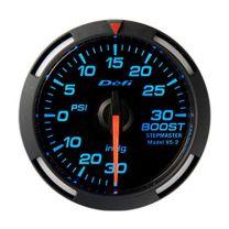 DEFI Blue Racer 52mm Boost Gauge (US)