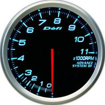 DEFI Advance BF Blue 80mm Tach 11000RPM