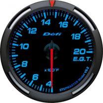 DEFI Blue Racer 52mm EGT Gauge (US)