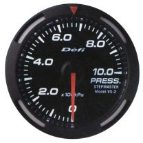 DEFI White Racer 52mm METRIC Pressure Gauge (US)
