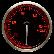 DEFI Racer Volt Gauge N2 52mm (US) Red