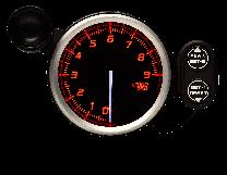 DEFI Racer Gauge N2 9000 RPM Tachometer 80mm Red